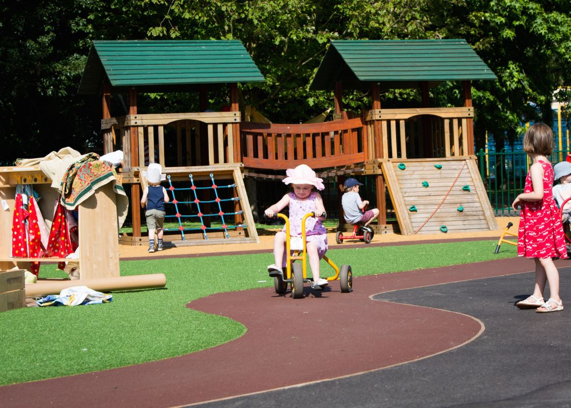 Foundation stage playground